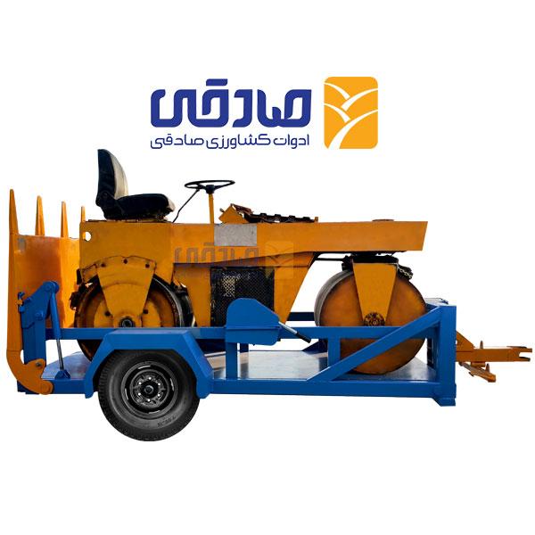 تریلی یدک کش مجموعه تولیدی ادوات کشاورزی و راه سازی صادقی