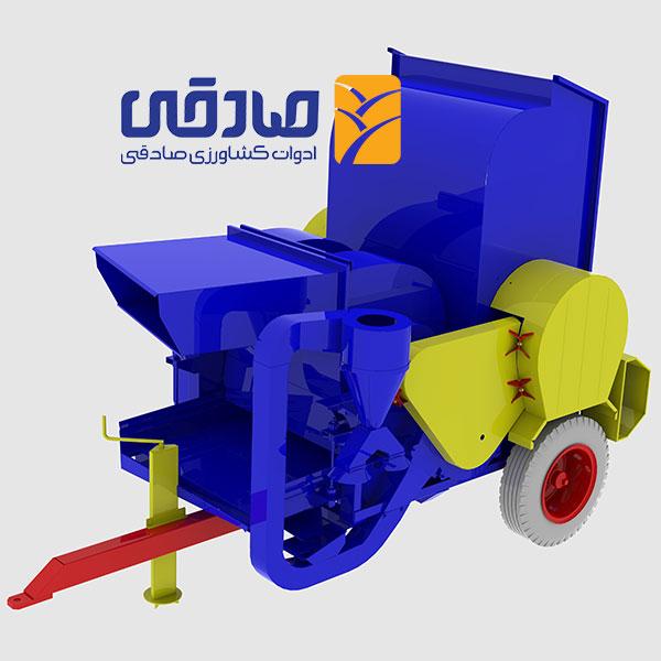 دستگاه خرمن کوب مدل A-1200 مجموعه تولیدی ادوات کشاورزی صادقی