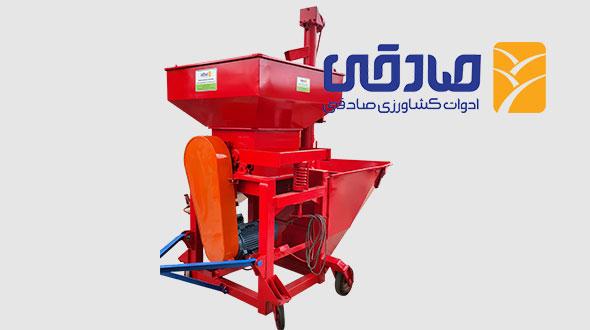 دستگاههای آسیاب غلطکی مجموعه تولیدی ادوات کشاورزی صادقی