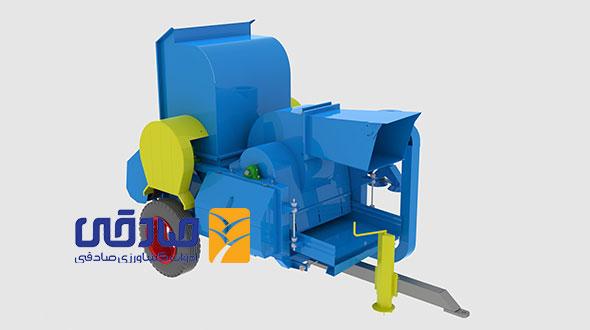 دستگاه خرمن کوب مدل F-1200 ادوات کشاورزی و صنعتی صادقی