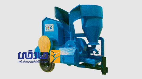 دستگاه خرمن کوب مدل G-1200 ادوات کشاورزی و صنعتی صادقی