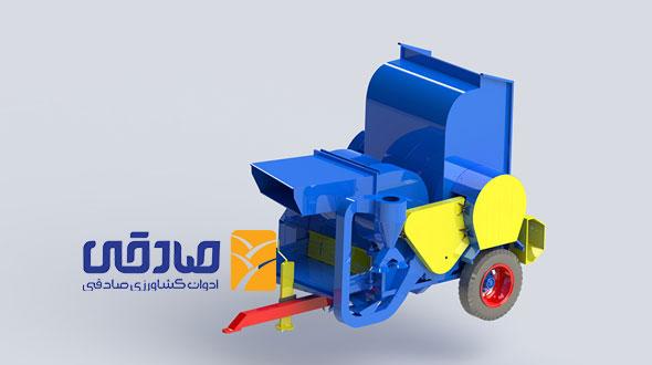 دستگاه خرمن کوب مدل A-1200 ادوات کشاورزی و صنعتی صادقی
