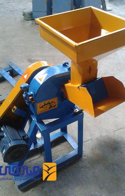دستگاه آسیاب برقی چکشی و علوفه خرد کن مدل ML493 ادوات کشاورزی صادقی