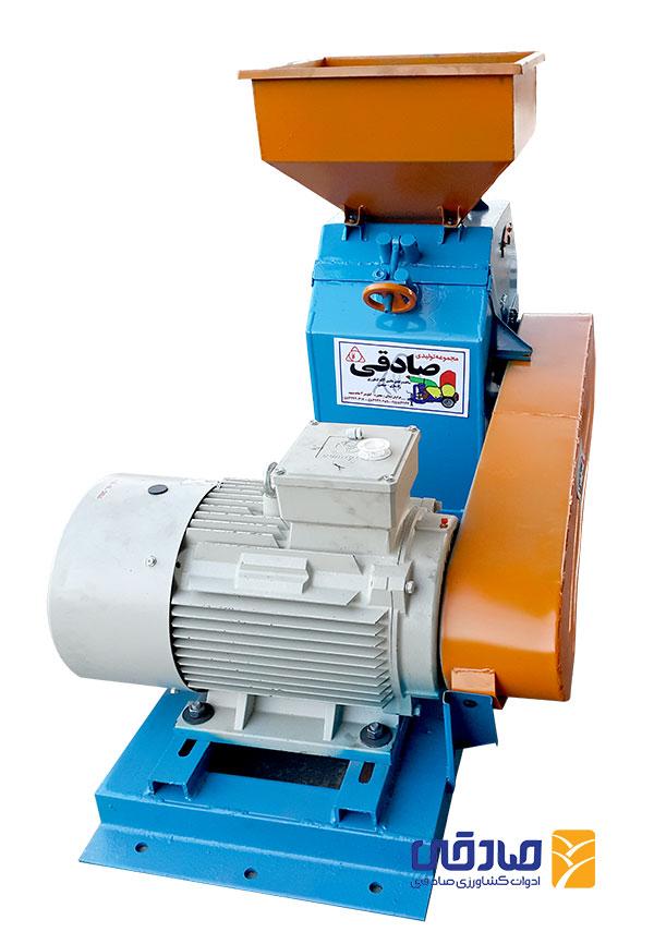 دستگاه آسیاب برقی چکشی مدل ML497 ادوات و ماشین آلات کشاورزی صادقی