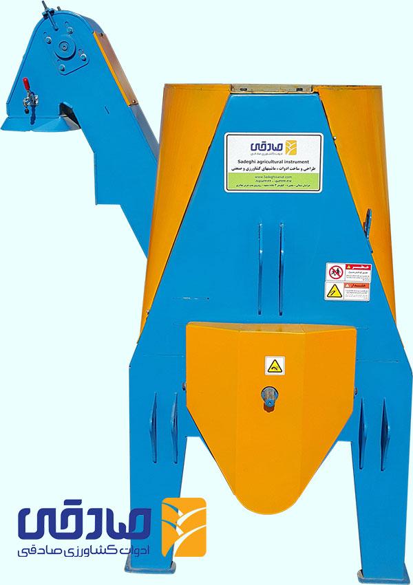 دستگاه علوفه کوب تراکتوری کیسهزن - ادوات کشاورزی صادقی