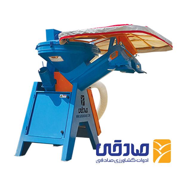 کاه بار کن کیسه زن - تریلی زن تراکتوری مدل SL 902 ادوات کشاورزی صادقی