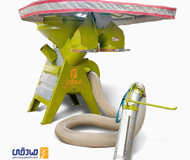 دستگاه مکنده کاه straw-loder-902 ادوات کشاورزی صادقی